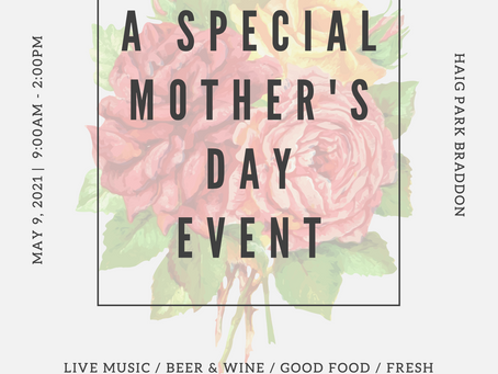 MOTHERS DAY AT THE HAIG PARK VILLAGE MARKETS