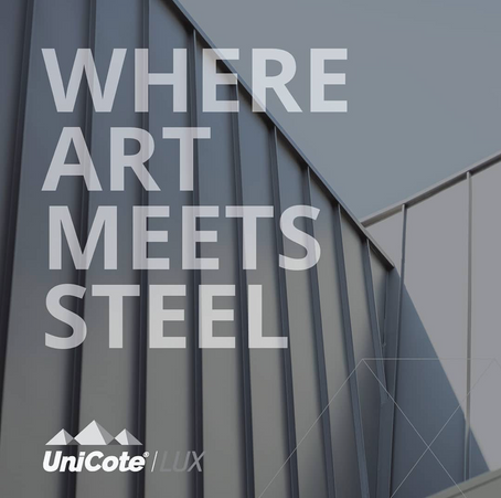 Introducing UNICOTE® LUX Now available at Steeline Canberra