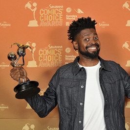 Savanna Pan-African Comic of the Year Award   Basketmouth