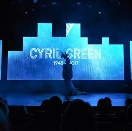 Lifetime Achiever   Cyril Green