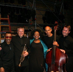 Jessye Norman and her band