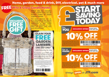 In-store Incentive flyer