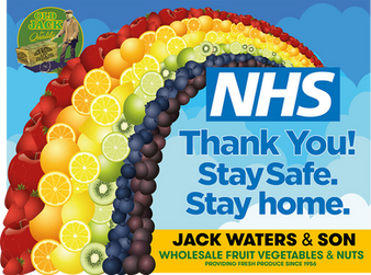 NHS Support Message