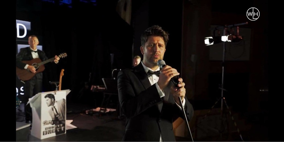 Beyond Buble - James Williams with his 10-piece live band