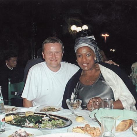 Jessye Norman and Mike Lovatt