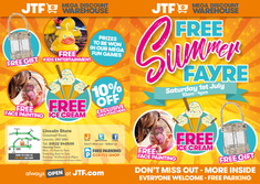 JTF Summer Event flyer
