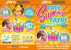 JTF Summer Event flyer