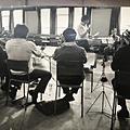 Directing Constellation rehearsal 1982