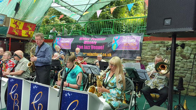 Constellation Big Band in concert Gower