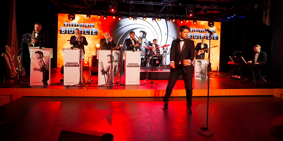 Beyond Bublé - James Williams as Michael Bublé with his live band