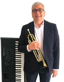 Dave Cottle keyboard and trumpet.png