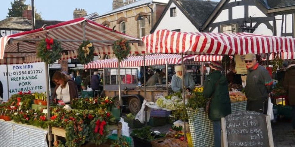 John Barker at Leominster Victorian Christmas Market