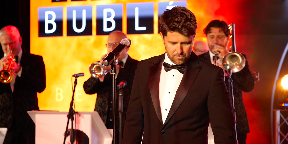 Beyond Bublé with James Williams and his live band