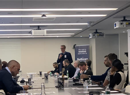 Bridge Point Capital Co-hosted The Entrepreneurship Society Investment Dinner in NYC
