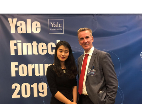 Bridge Point Capital was invited to speak at the Yale Fintech 2019 Forum