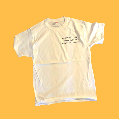 """I  survided 2020"" T-shirt"