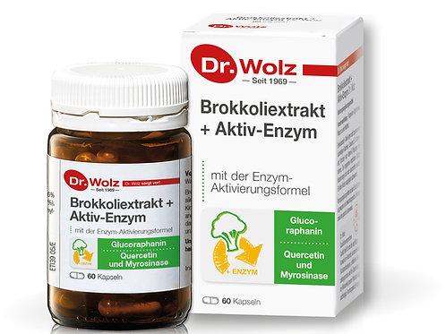 Brokkoli Extract + Aktiv Enzym 60 caps