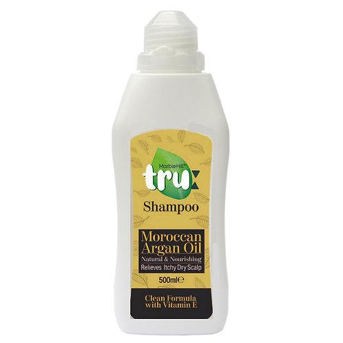 Tru Natural Moroccan Argan oil and Vitamin E shampoo 500ml