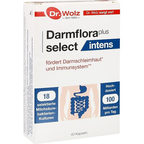 Darmflora Plus Select Intens 40 caps