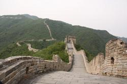 Sur la muraille de Chine
