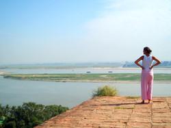 Du haut de MinGun en Birmanie