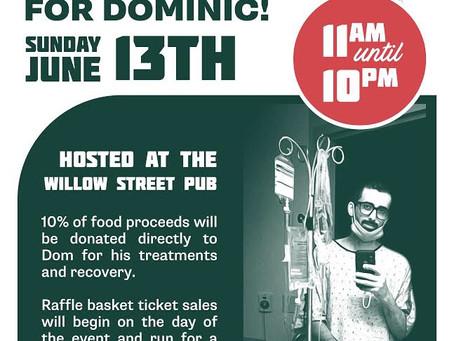 June 13th- Dine & Donate