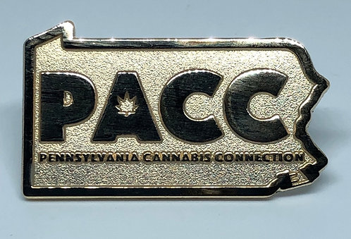 PACC Gold State Pin