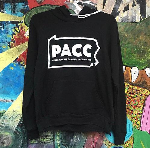 PACC State Outline Hoodie (Black)