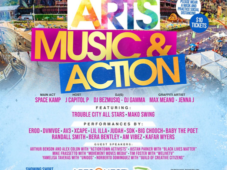 Arts, Music & Action- September 19th