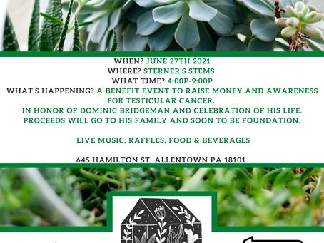 Bouquets & Benefits 6/27