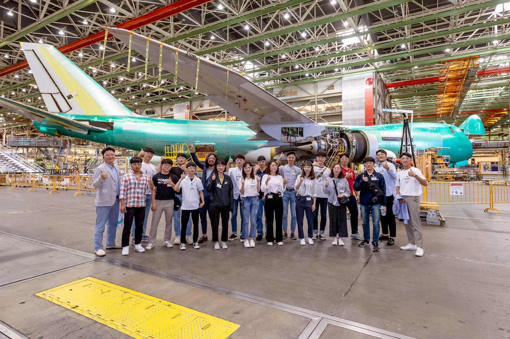Korean Aerospace_Boeing Factory Tour_046