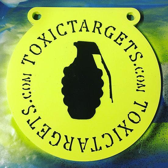 """3/8"""" AR500 Steel Target 12"""" Gong"""