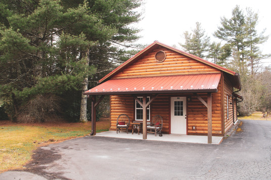 Front of Cabin 124