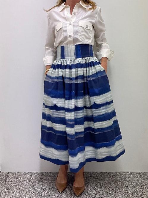 Sophia Skirt Tie&Dye Blu