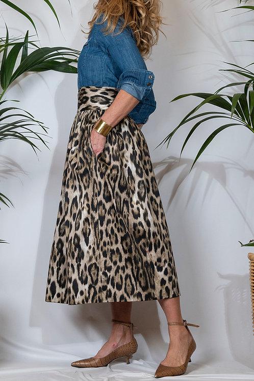 Sophia Skirt Leopard