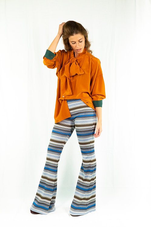 Gaia Pants Onda blu