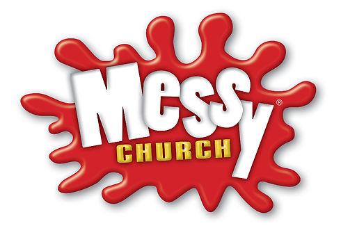 Official Messy Church logo - 1000 pixels