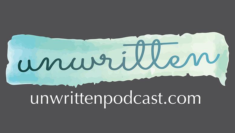 unwritten logo white vector Tshirt w URL