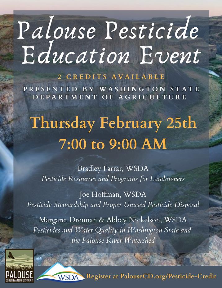 Pesticide Education Event Flyer 021621.p