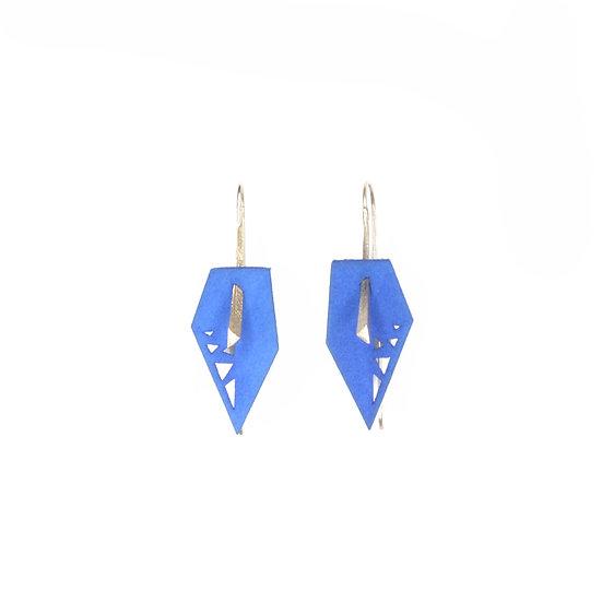 Mid-length blue dangles