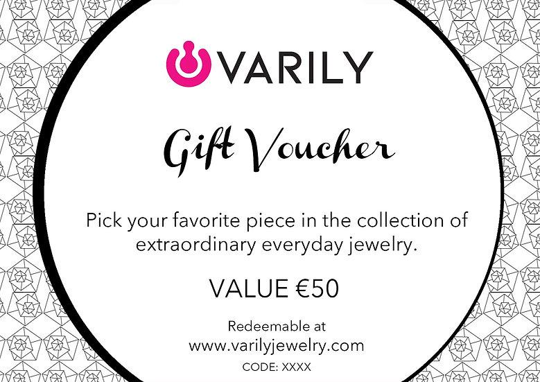 Gift Voucher - 50