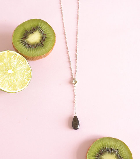 Golden Obsidian - Vertigo mini necklace
