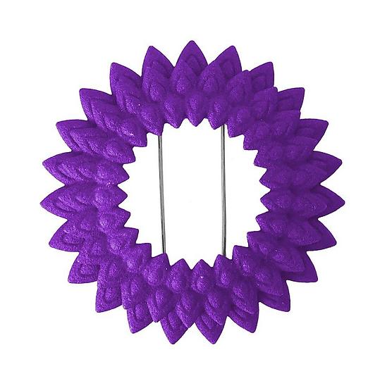 OUTLET Dahlia brooch - purple