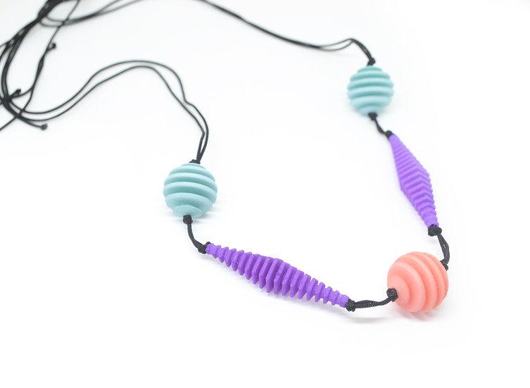 OPTICAL - Necklace - Pastel colours