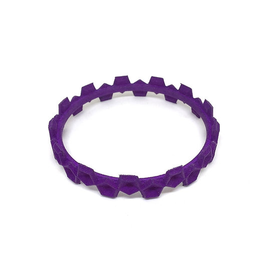 OUTLET small bangle - Purple
