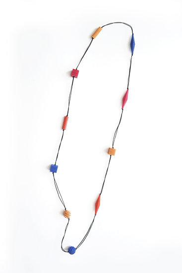 OTTICA - Collana lunga - Colori vivaci