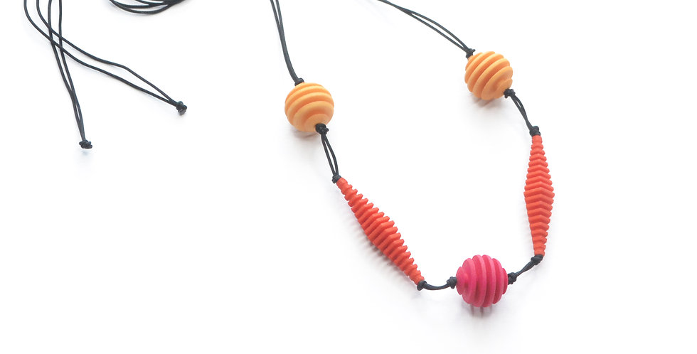 OPTICAL - Necklace - Bright colours