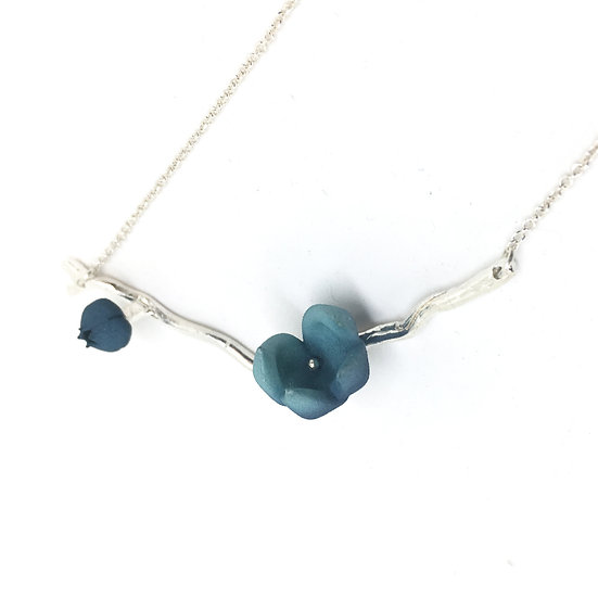 Bloom pendant - blue