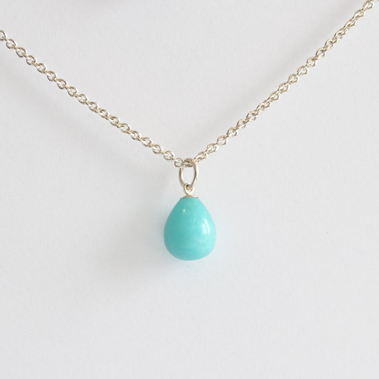amazonite drop pendant