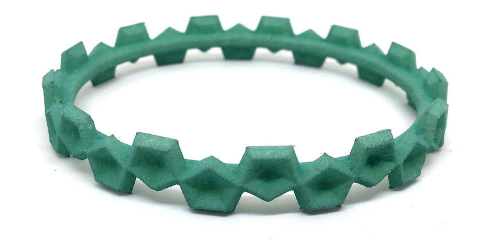 OUTLET small bangle - Green